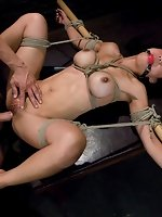 Busty Asian fucked and dominated in...
