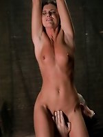 Sexy fit milf in bondage and sex