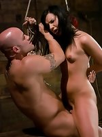 girl gets dominated and fucked hard...