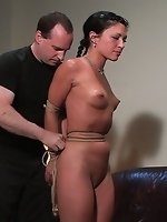Charolette fucks herself in and out...