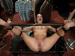 Hot girl punished for...