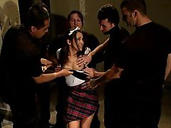 Kristina Rose in her FIRST...