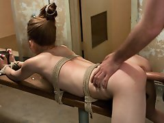 Flexible girl abducted by...