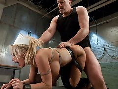 Holly Halston ass fucked and...