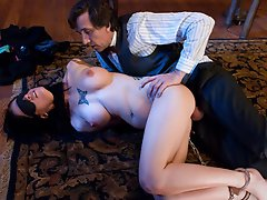 Tricia Oaks gets punished and...