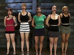 Lesbian slave training for...