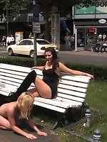 Hot German blonde gets punished and...