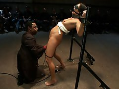 Cece Stone is pushed to the...
