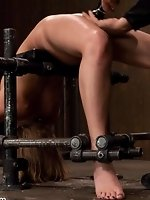 Former gymnast contorted, bound, and...